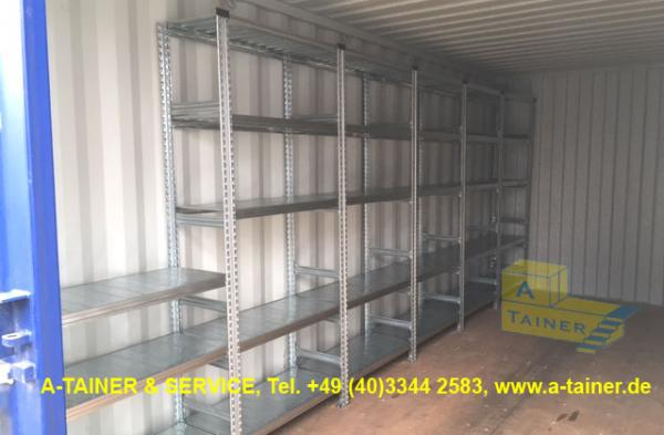 Regalsystem Lagercontainer_wz
