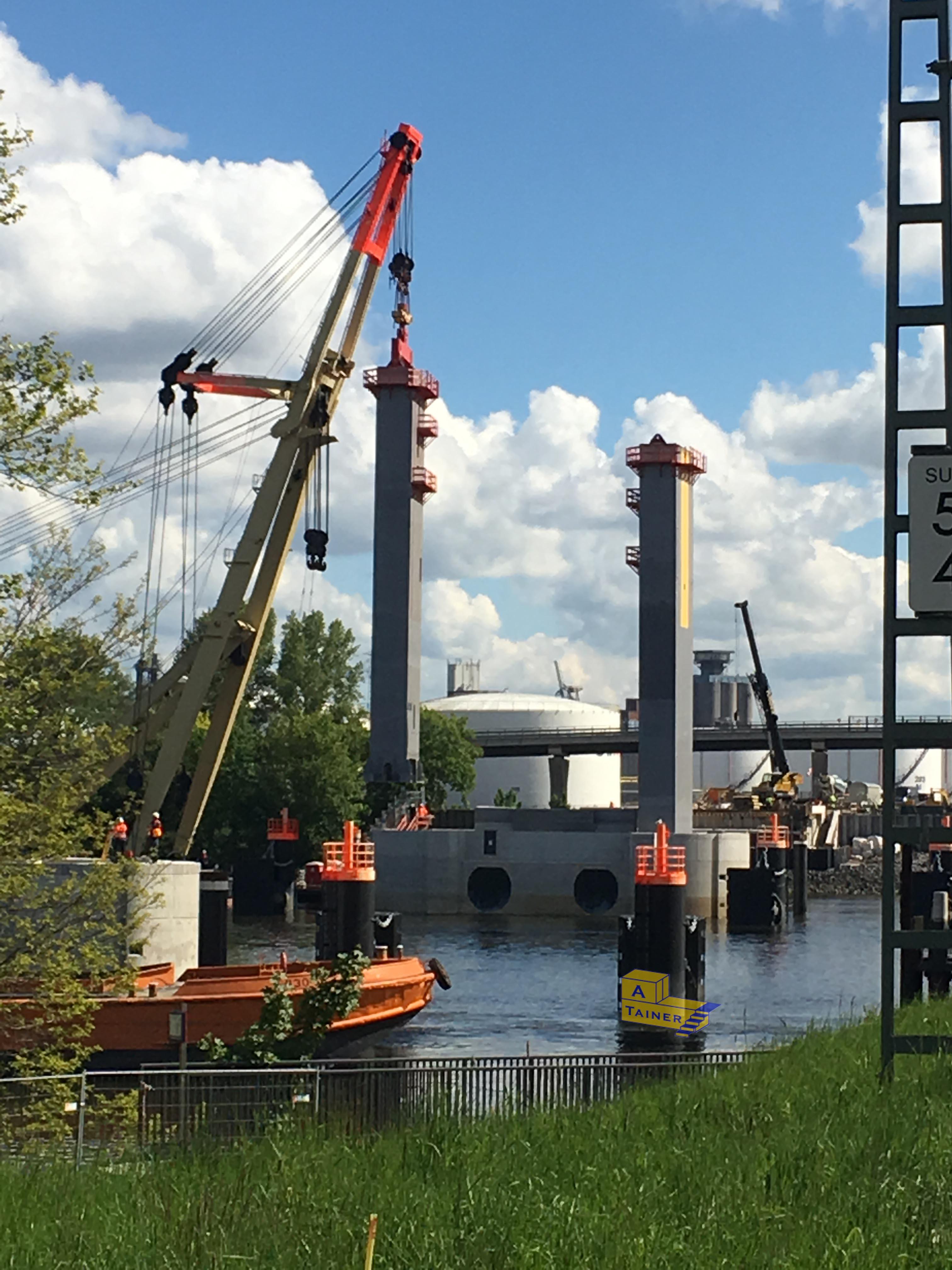 Kattwykbrücke II - Momentaufnahme