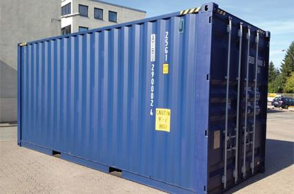 20 fu container kaufen a tainer service ihr. Black Bedroom Furniture Sets. Home Design Ideas