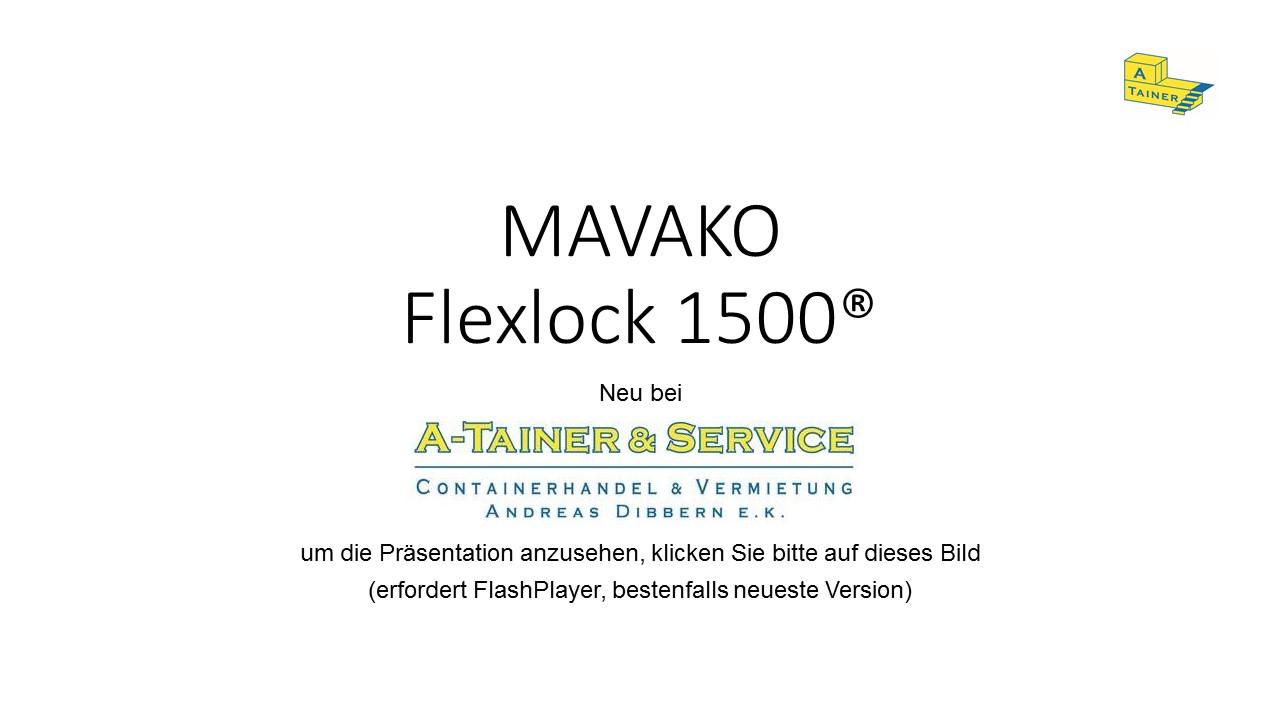 Flexlock Präsentation Startbild